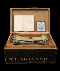 TLS Civil War trunk (Frances Inglis, photo Mark Banka)