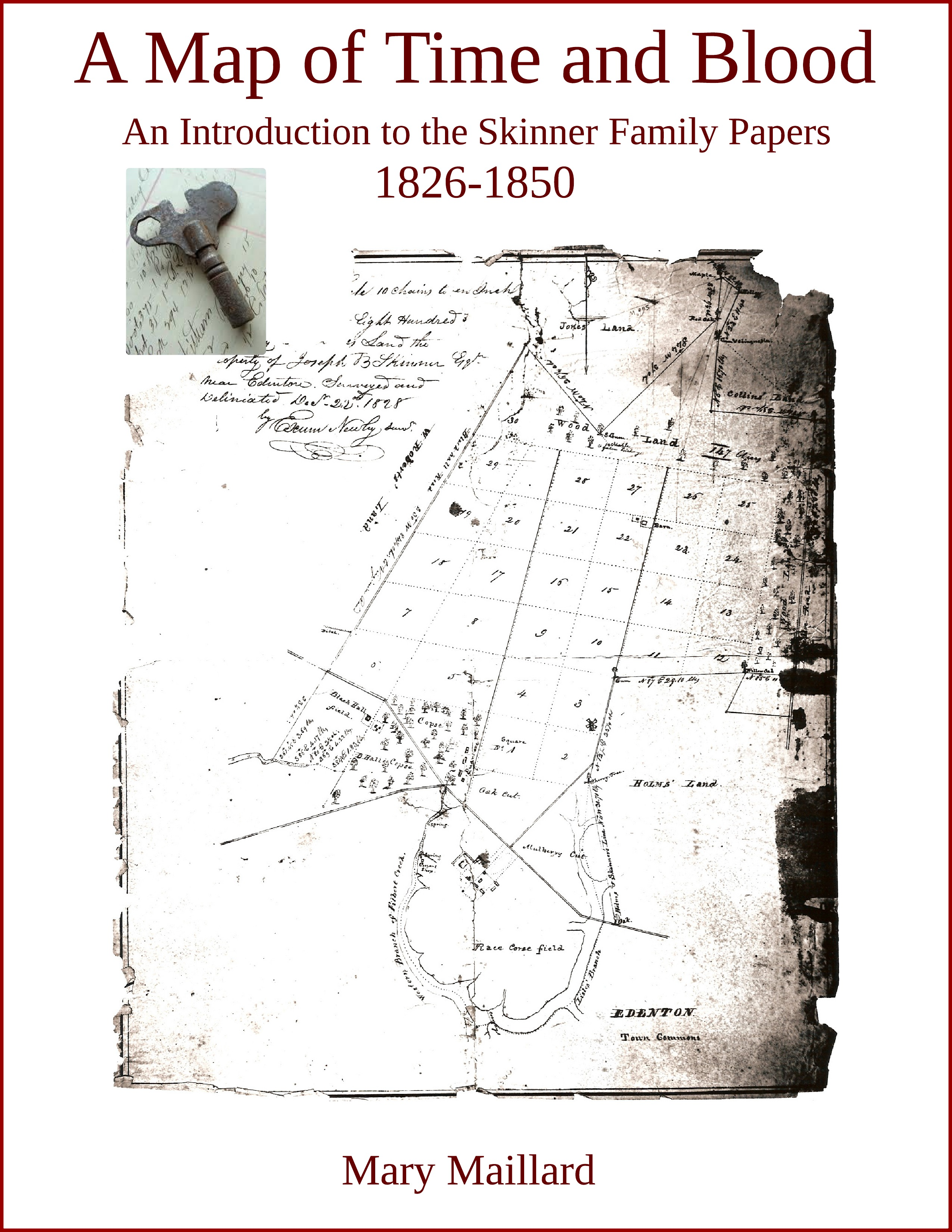 Map of Time and Blood 1826-1850 Cover - New Page