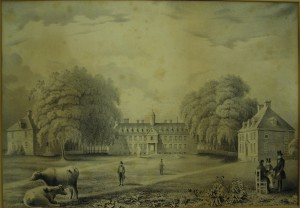 1842b (before May 9 1842) W&M College engraving from Thomas Millington drawing 1840s.