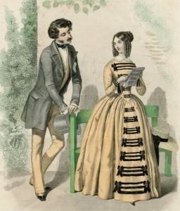 1848a (before Nov 6 1848) 1847 Les Modes Parisienne crop