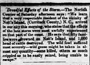storm Poughkeepsie Journal March 14 1846
