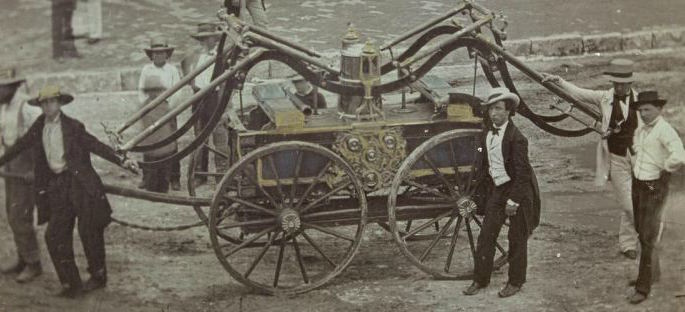1852 fire engine donkey
